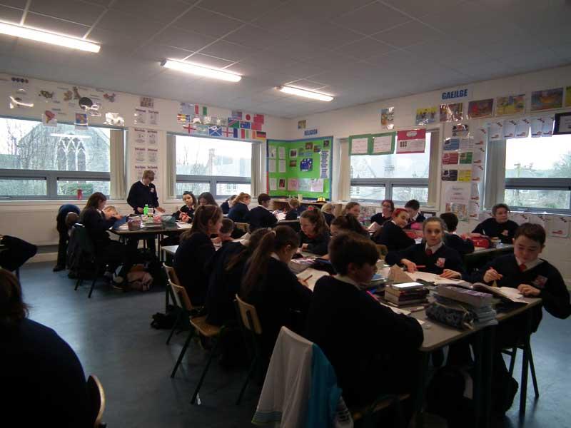 St Colman's Classroom